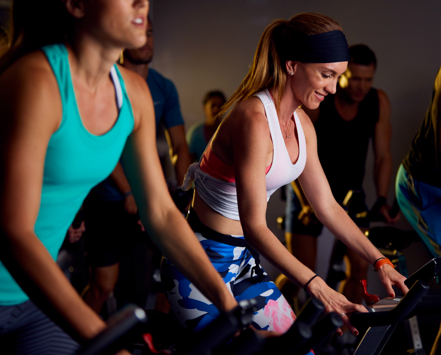 cycle classes at chicago fitness resort